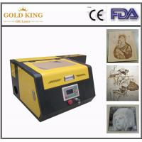Quality Gold King Advertising co2 laser cutting and engraving machine(CE) for sale