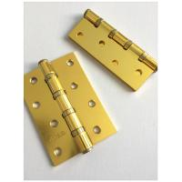 Quality Golden Plated4  Ball Bearing Driveway Gate Hinges Loose Pin Lift Off Type for sale