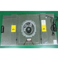 Quality Stainless Steel Cabinet 0.8m/S 97pa H14 Fan Filter Unit for sale