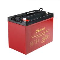Quality China Rechargeable Long Life High Temperature Battery GEL Solar Battery 12V 90Ah for sale