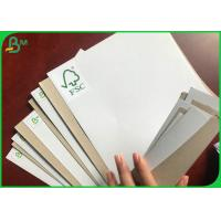 Quality 250g  FSC Certificate Gift Wrapping Paper Coated Duplex Board With White Coating for sale