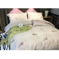 Quality Cotton Blending Embroidered Twin Bed Duvet Covers And Shams Size Customized for sale