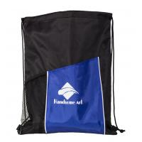 Quality 210d Polyester Drawstring Shopping Bag with Low Price-HAD14021 for sale