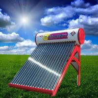 China Colored Steel Integrated Non-pressurized Solar Water Heater With 20 Tubes on sale