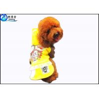 Buy Polyester Fashion Pets Products Luxury Pet Clothes for Dogs , Multi Color and Customized at wholesale prices