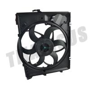 Quality TS16949 Car Cooling Fan DV12 400W For B-M-W E90 Auto Radiator Kits for sale