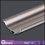 Quality China manafacturer door painting wood grain aluminium profile extrusion for sale