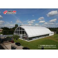 Quality White Polygon Roof Marquee Large Storage Tents With High Interior Space for sale