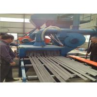 Quality Surface Cleaning Roller Conveyor Shot Blasting Machine Derusting Storage Rack for sale