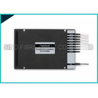 Quality 8 Channel Fiber Optic Splitter Dual Fiber DWDM Mux Demux LC UPC Assembly for sale