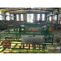 Quality 2m-4m width Full Automatic PLC control Chain Link Fence Machine for sale