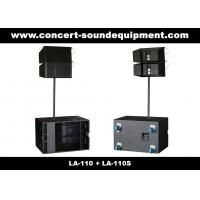"""Quality Line Array Sound System , 2x1""""+10"""" 400W  Line Array Speaker For Living Event , DJ And Party for sale"""