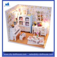 China china hot sale miniature house wooden toy model puzzle M011 on sale