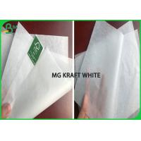 Quality Custom Size A1 Sheet 28gsm 30gsm MG White Kraft Paper Roll For sandwich & Fast Food for sale