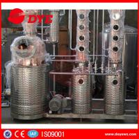 Buy Red Copper Still Kits Copper Distillery Equipment 1-3 Layers SUS304 at wholesale prices