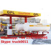 Quality 26ton skid-mounted lpg gas filling plant, hot sale 26metric tons skid lpg filling station with automatic lpg dispensers for sale
