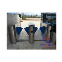 China Half Height Portable Security Turnstile Gate Lock 304 SS With Rfid Coins Acceptor on sale