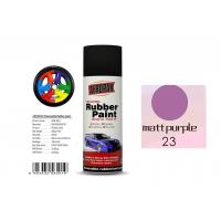 Quality High Efficiency Rubber Coat Spray Paint Matt Purple Color For Wood for sale