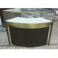 Quality Small Jewellery Display Cabinets / Glass Jewelry Case With Multi Color for sale