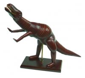 Quality Dinosaur / Diplodoucus Animal Manikin Wooden Artist Model Chinese Juniper Material for sale