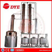 Quality Distillery Brandy Gin Vodka Alcohol Copper Still Equipment CE Certificate for sale