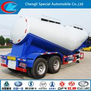 Quality Asme 2 Axles 30cbm Bulk Tank Semi-Trailer  for Transport for sale