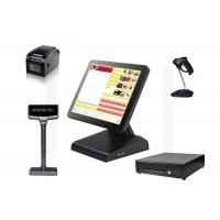 Quality Industrial Computer Retail Pos System With Barcode Scanner Power Saving for sale