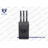 Quality Black GPS Signal Jammer 360 Degree Jamming With Operating Zone Up To 15m for sale
