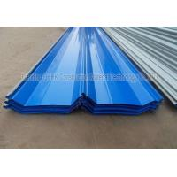 Quality Corrosion Resistant Prepainted Steel Corrugated Roofing Sheets Long Life Span for sale