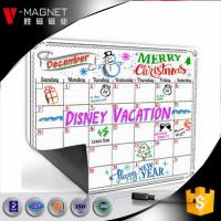 wholesale magnetic calendar for refrigerator on Amazon  magnetic board for monthly weekly planner  dry earse board