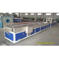 Quality PVC Trunk Plastic Profile Extrusion Line , PVC Wall Panel Plastic Profile Machinery for sale