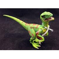 Colourful Plastic Dinosaur Toys / Realistic Dinosaur Toys For Girls EN71 Approved