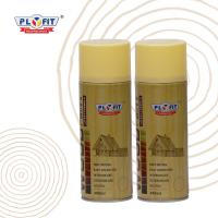 Quality Decorative Wood Lacquer Aerosol Spray Paint 400ml Content Tin Can Material for sale