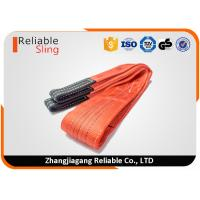 China High Temperature Resistant Flat Webbing Sling Polyester Glass Lifting Slings on sale