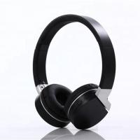 Quality Comfortable Black Bluetooth Noise Cancelling Headphones ABS Material for sale