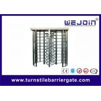 China Security Double Turnstile , Routeway Office Building Full Height Gate Turnstile on sale