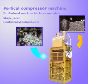 Quality vertical compressor,vertical baling press,60 tons baling press,compressing machine for sale