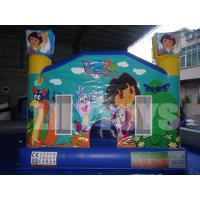 Quality 1500D PVC Safe Commercial Inflatable Bouncers UV-Resistance / High Temperature for sale