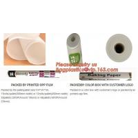 Buy Baking parchment paper rounded waterproof wrapping paper brown greaseproof paper at wholesale prices