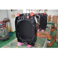 Quality Aluminum Vacuum Brazed combined oil cooler radiator for construction machinery oil cooling solutions for sale