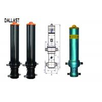 Quality GS Telescopic Hydraulic Ram Single Acting Long Stroke for Mining Trailer for sale