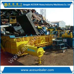 China China Waste Metal Baler 250Ton Turn out type on sale