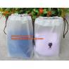 Quality Biodegradable Cotton string LDPE plastic laundry bag custom poly bag drawstring bag,Customized Logo Printed Poly Drawstr for sale