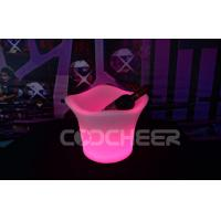 Quality Plastic Material Led Ice Bucket Party Cooler Wine Glowing Ice Bucket for sale