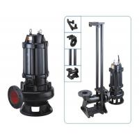 Quality Cold Rotor Stator Cast Iron Sewage Pump OEM Accepted Easy Installation for sale