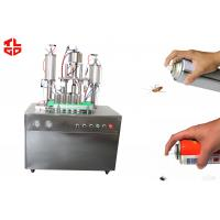 Quality Insecticide Aerosol Spray Filling Machine for sale
