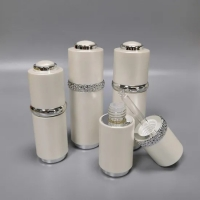 Quality 15ml 30ml Abs Outer Cosmetic Dropper Bottle Plastic for sale