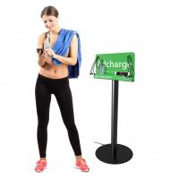 Buy Free stand billboard cell phone charging station at wholesale prices