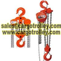 Quality Manual chain hoist pictures and details for sale