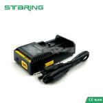 Quality 100% Original Nitecore D2 Digicharger LCD Display Battery Charger Nitecore Charger EU/US/UK Plug for sale